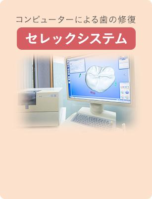 コンピューターによる歯の修復 セレックシステム