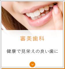 審美歯科 健康で見栄えの良い歯に